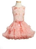 Girl's Popatu 'Butterfly' Sleeveless Party Dress