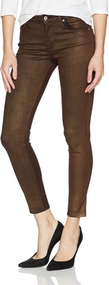 James Jeans Women's Twiggy Skinny Ankle Jean in Bronze 26