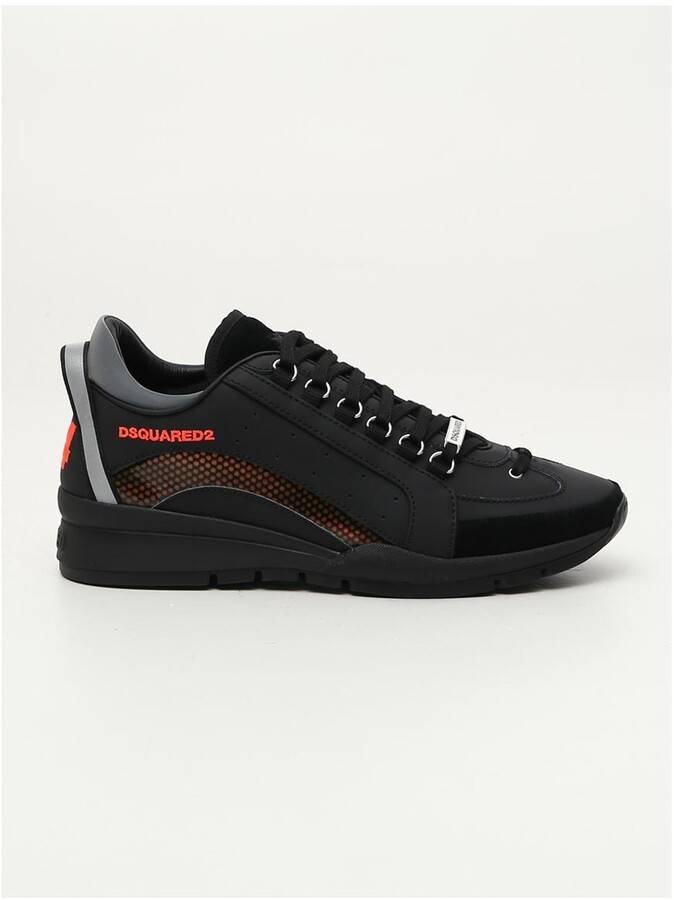 DSQUARED2 Logo Panelled Sneakers