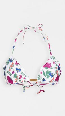 Vix Paula Hermanny Clover Ripple Tri Bikini Top