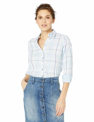 Foxcroft Women's Plus Size Rhea Reversible Plaid