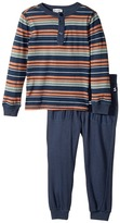 Splendid Littles Yarn-Dyed Stripe Shirt and Pants Set Boy's Active Sets
