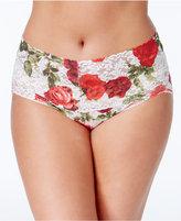 Hanky Panky Plus Size Rose Lace Vikini 3J2126X