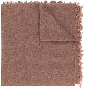 Faliero Sarti Loose Knit Scarf With Tassel Edge