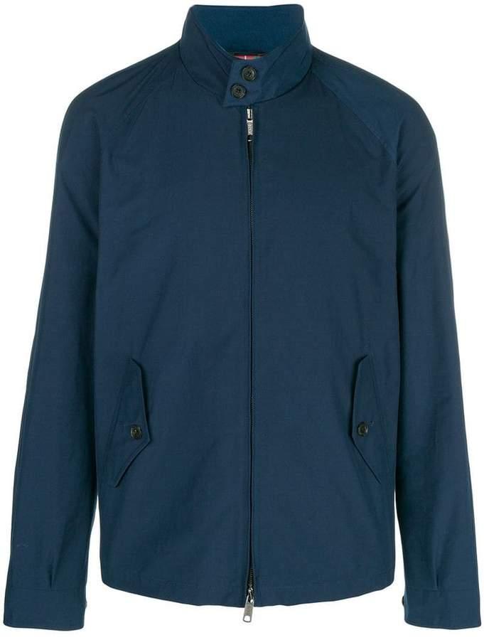 Engineered Garments mock neck zip front jacket