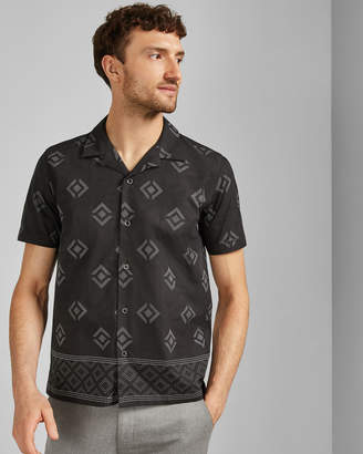 Ted Baker THEODOR Cotton printed shirt