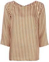 Alberto Biani printed shift blouse