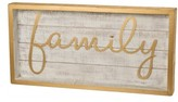 Primitives By Kathy Family Box Sign