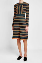 M Missoni Printed Dress with Cotton