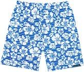 Jo-Jo JoJo Maman Bebe Swim Shorts (Baby/Toddler) - Blue Hawaiian-2-3