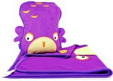 Trunki SnooziHedz Travel Pillow and Blanket - Ollie Owl