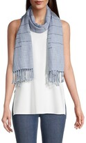 Thumbnail for your product : Eileen Fisher Fringed Alpaca-Blend Scarf