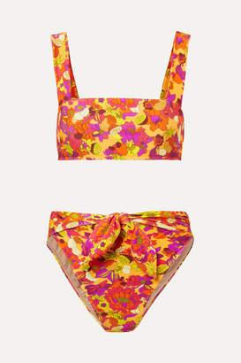 Adriana Degreas Printed Bikini - Yellow