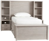 Pottery Barn Kids Grayson Storage Bed, End of Bed Storage Bench & 2 Nighstand Towers