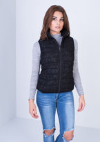 Missy Empire Celine Black Lace Gilet