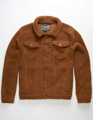 Brooklyn Cloth Sherpa Mens Trucker Jacket