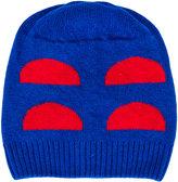 Bobo Choses geometric colour-block beanie hat