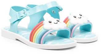 Mini Melissa Mar flat sandals