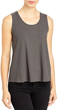 Eileen Fisher Ribbed Scoop Neck Tank