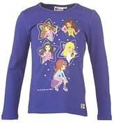 Lego Wear friends THEODORA 608 Girls' Long-Sleeve Shirt - Purple -
