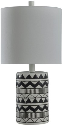 Stylecraft Patterned Table Lamp