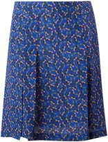 Cacharel pleat detail mini skirt