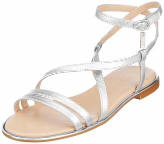 Liu Jo Women's Susan 06-Sandal Met Leath SLV Open Toe