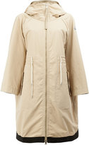 Moncler Pin hooded coat - women - Polyester - 0