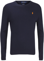 Polo Ralph Lauren Men's Crew Neck Pima Cotton Knitted Jumper Hunter Navy