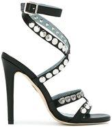 Chiara Ferragni studded strappy sandals