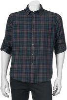 Apt. 9 Men's Modern-Fit Plaid Flannel Button-Down Shirt