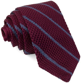 Burgundy Knit Tie | Shop the world's largest collection of