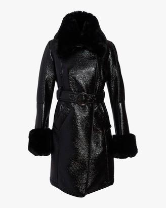N'Onat Faux Fur Belted Coat