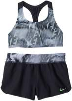 Nike Amp Axis Racerback Sport Top Short Set Girl's Swimwear Sets