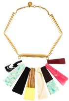 Stella McCartney Resin & Faux Wood Necklace