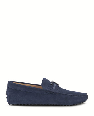 Tod's Tods Mocassin Rubber Blue