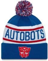 New Era Cap Men's Autobots Biggest Fan Redux Pom Knit Beanie