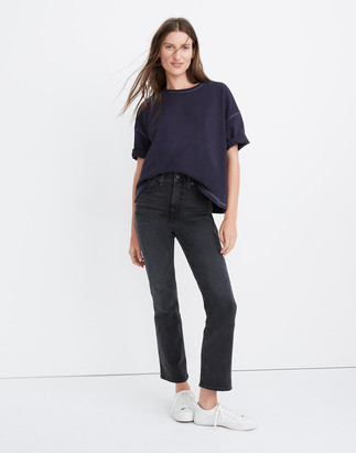 Madewell Slim Demi-Boot Jeans in Harlocke Wash