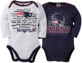 Gerber New England Patriots Two-Piece Long-Sleeve Bodysuit - Infant