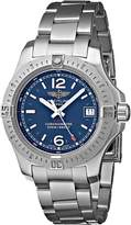 Breitling Men's BTA7738811-C908SS Colt Lady Analog Display Quartz Silver Watch