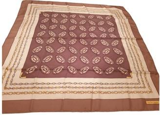 Cartier Brown Silk Silk handkerchief