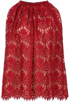 Lanvin lace top - women - Silk/Cotton/Polyamide/Viscose - 38