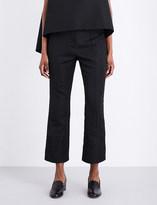Erdem Verity jacquard trousers