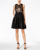 Calvin Klein Sequin Taffeta Cocktail Dress