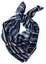 Banana Republic Stripe Print Square Scarf