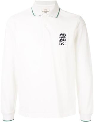 Kent & Curwen Logo Print Polo Shirt