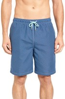Peter Millar Men's Bamboo Print Swim Trunks