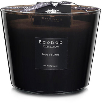 Baobab Collection Encre de Chine Candle - Century Wood & Jasmine smoke black
