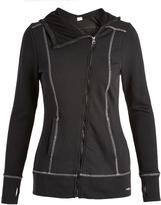 Head Black Asymmetrical-Zip Powder Day Jacket