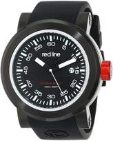 Redline red line Men's RL-50049-01-RDA Torque Sport Black Dial Silicone Watch